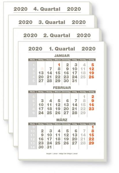 Quartalsplaner 2020