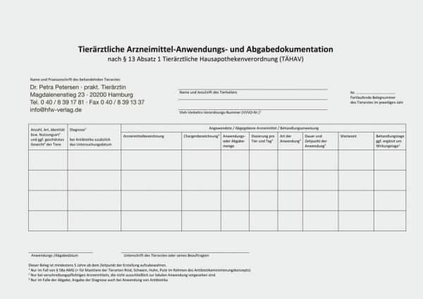 AuA-Beleg 1 - Standard